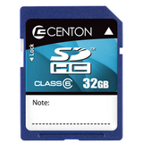 Centon 32GB Secure Digital High Capacity (SDHC) Card - Class 6