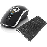 Gyration Air Mouse Elite with Low Profile Keyboard GYM5600LKNA