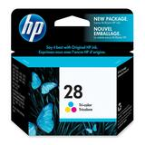 HP 28 Tri-color Ink Cartridge C8728AC#140