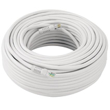 Mace KO-150 Video Cable - 150 ft - White