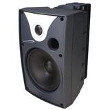 Speco SP5AWXT 40 W RMS - 80 W PMPO Outdoor Speaker - 2-way - 2 Pack - Black SP5AWXT
