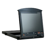 Aten KL1516MUKIT Dual-Rail Rackmount LCD with KVM Switch
