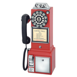 Crosley CR56 Standard Phone - Red CR56-RE