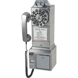 Crosley CR56-BC Standard Phone - Brushed Chrome CR56-BC