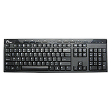 SIIG USB Low Profile Multimedia Keyboard JK-US0212-S1