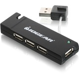 IOGEAR 4-port Hi-Speed USB 2.0 Hub GUH285W6