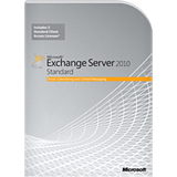 Microsoft Exchange Server 2010 Standard Edition - 64-bit - Complete Product - 1 Server, 5 CAL - Mail Server - Standard Retail - PC