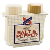 Advantus Salt & Pepper Disposable Shaker