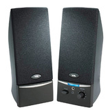 Cyber Acoustics CA-2014 2.0 Speaker System - 4 W RMS - Black CA-2014WB
