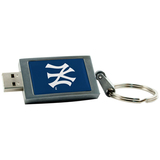 Centon 2GB DataStick Keychain New York Yankees USB 2.0 Flash Drive