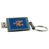 Centon 4GB DataStick Keychain New York Mets USB 2.0 Flash Drive