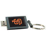 Centon 4GB DataStick Keychain San Francisco Giants USB 2.0 Flash Drive