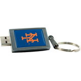 Centon 2GB DataStick Keychain New York Mets USB 2.0 Flash Drive