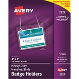 Avery Flexible Badge Holder - Clear
