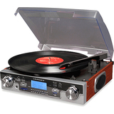 Crosley CR6007A Mahogany Record Turntable