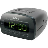 Coby CR-A58 Desktop Clock Radio CRA58BLK