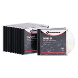 Innovera DVD Recordable Media - DVD-R - 16x - 4.70 GB - 10 Pack Jewel Case
