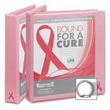 Samsill Breast Cancer Awareness View Binder