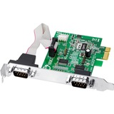 SIIG CyberSerial 2-port PCI Express Serial Adapter JJ-E10D11-S3