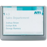 Durable CLICK SIGN Holder for Interior Walls 4861-37