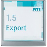 Durable CLICK SIGN Holder for Interior Walls 4862-37