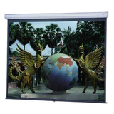 "Da-Lite Model C 33403 Manual Projection Screen - 101"" - 1:1 - Ceiling Mount, Wall Mount 33403"