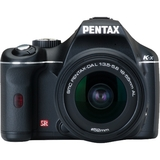Pentax K-x Digital SLR Camera - Black