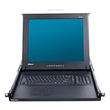 Raritan TMCAT17216 Rackmount LCD with KVM Switch TMCAT17216