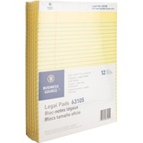 BSN63105 - Business Source Legal Ruled Pad