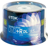 TDK Life on Record 8x DVD+R Double Layer Media