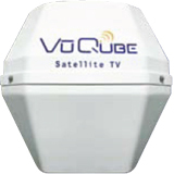 Vuqube V10 Mobile Satellite TV Antenna