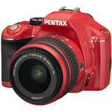 Pentax K-x Digital SLR Camera - Red