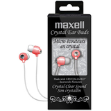 Maxell CEB-Pink Crystal Earphone