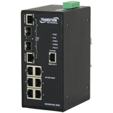 Transition Networks SISGM1040-262D-LR Ethernet Switch - 8 Port - 2 Slo - SISGM1040262DLR