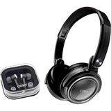 Coby CV215 Headphone - Stereo - Silver - Mini-phone