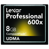 Lexar Media Professional 8 GB CompactFlash (CF) Card
