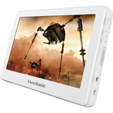 Viewsonic VPD400 8 GB White Flash Portable Media Player VPD400-708