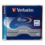 Verbatim 6x BD-R DL Media