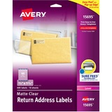Avery Easy Peel Return Address Label 15695