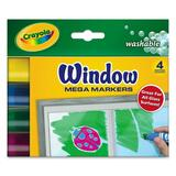 Crayola Washable Window Mega Marker