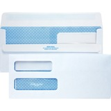 Quality Park Redi-Seal Double Window Envelope - 24559