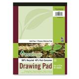 Pacon Ecology Recycled Drawing Pad