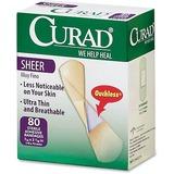 """BANDAGE;CURAD SHEER 3/4"""";80"""