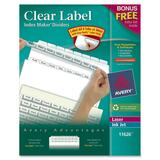 Avery Clear Label Index Maker Divider