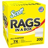 Kimberly-Clark Scott Rags In A Box - 75260