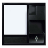 MasterVision Dry-erase Station Combo Board