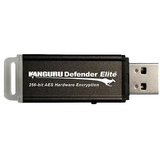 Kanguru 1GB Defender Elite USB 2.0 Flash Drive