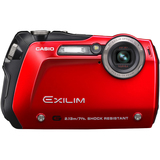 Casio Exilim EX-G1 Point & Shoot Digital Camera - Red