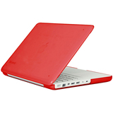 MB13PU-SEE-RD - Speck Products SeeThru Hard Shell Notebook Skin