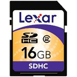 Lexar Media 16GB Secure Digital High Capacity (SDHC) Card - Class 2